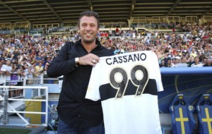 Parma FC Presents New Signing Antonio Cassano