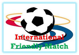 internasional friendly match