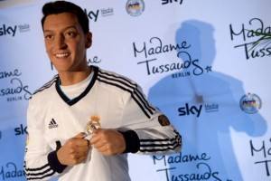 Mesut Oezil Unveils His Wax Figure